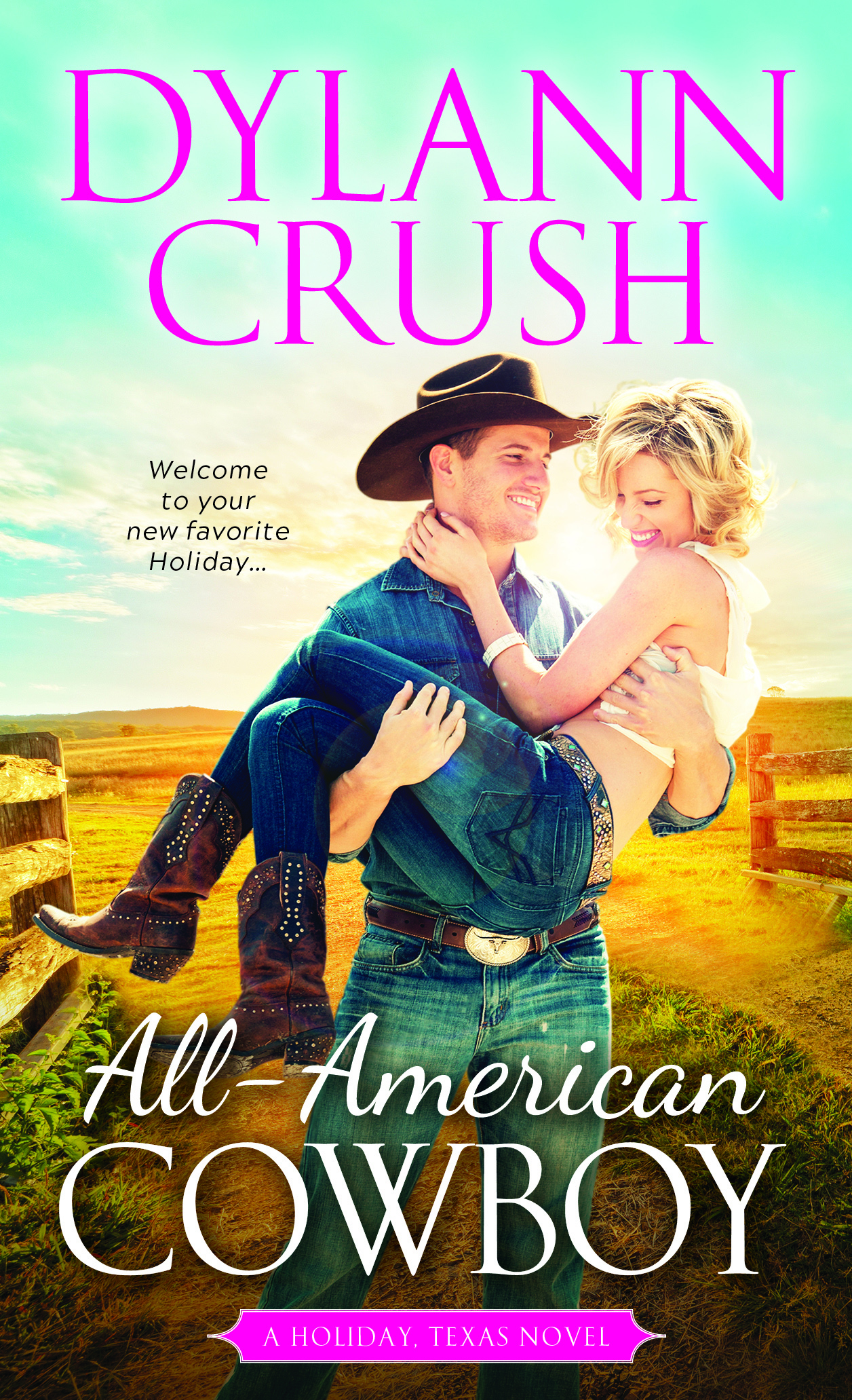 Cover Reveal for All-American Cowboy!