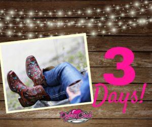 3 Days Until All-American Cowboy!