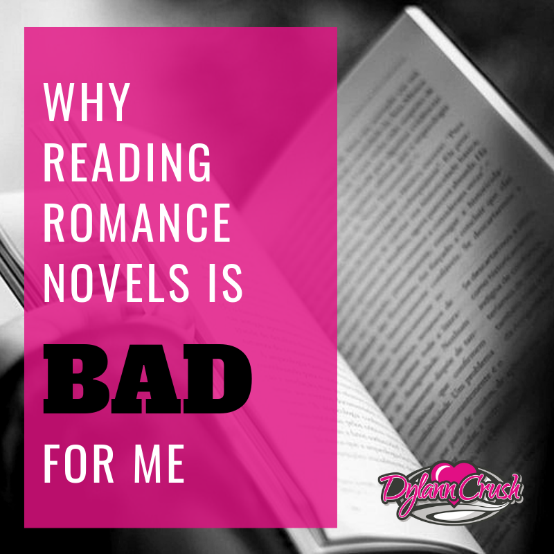 5 Reasons Reading Romance Novels is BAD for Me