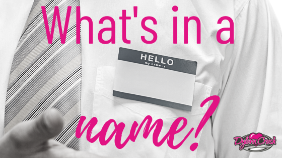 Read more about the article What's in a name?